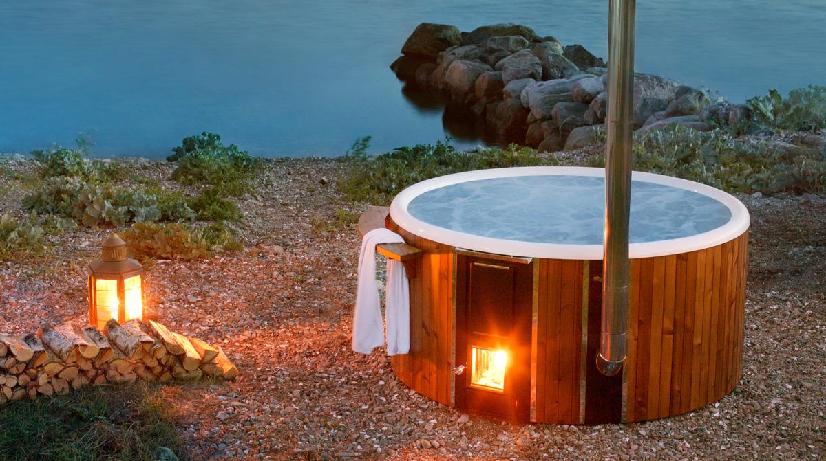 skargards regal new luxury woodfired hot tub from sweden skargards hot tubs