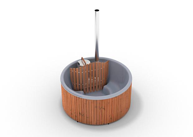 badetonne von skargards gmbh schwedische badetonne f r den garten. Black Bedroom Furniture Sets. Home Design Ideas