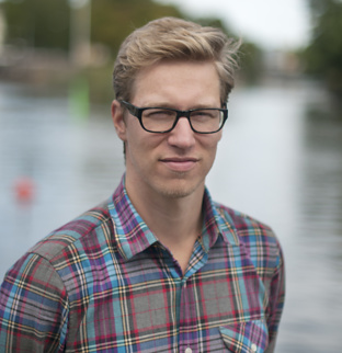 Portrait of Product development manager Fredrik Hofgaard